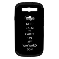 Carry On Centered Samsung Galaxy S Iii Hardshell Case (pc+silicone) by TheFandomWard