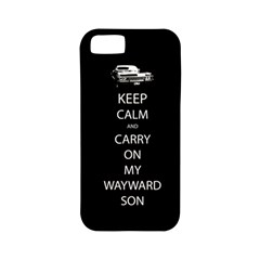 Carry On Centered Apple Iphone 5 Classic Hardshell Case (pc+silicone) by TheFandomWard