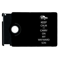 Carry On Centered Apple Ipad 2 Flip 360 Case by TheFandomWard