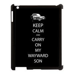 Carry On Centered Apple Ipad 3/4 Case (black)