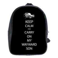Carry On Centered School Bags (xl)  by TheFandomWard
