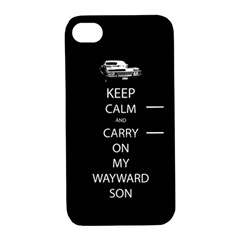 Carry On Centered Apple Iphone 4/4s Hardshell Case With Stand by TheFandomWard