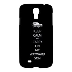 Carry On Centered Samsung Galaxy S4 I9500/i9505 Hardshell Case by TheFandomWard