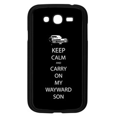 Carry On Centered Samsung Galaxy Grand Duos I9082 Case (black)