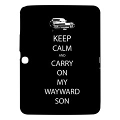 Carry On Centered Samsung Galaxy Tab 3 (10 1 ) P5200 Hardshell Case  by TheFandomWard