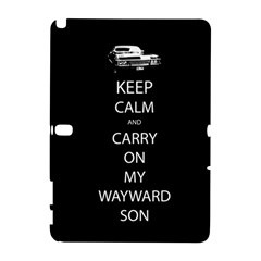 Carry On Centered Samsung Galaxy Note 10 1 (p600) Hardshell Case by TheFandomWard