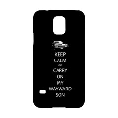 Carry On Centered Samsung Galaxy S5 Hardshell Case  by TheFandomWard