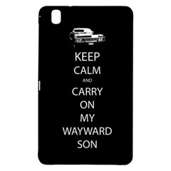 Carry On Centered Samsung Galaxy Tab Pro 8 4 Hardshell Case by TheFandomWard