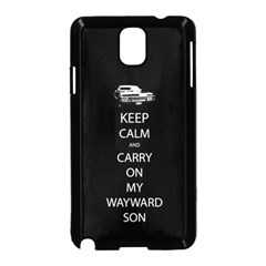 Carry On Centered Samsung Galaxy Note 3 Neo Hardshell Case (black) by TheFandomWard