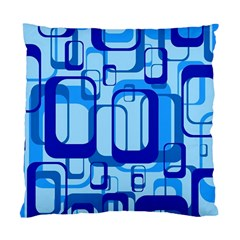 Retro Pattern 1971 Blue Standard Cushion Case (one Side)  by ImpressiveMoments