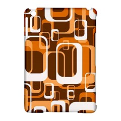 Retro Pattern 1971 Orange Apple Ipad Mini Hardshell Case (compatible With Smart Cover) by ImpressiveMoments