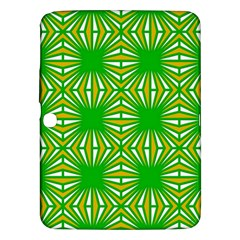Retro Green Pattern Samsung Galaxy Tab 3 (10 1 ) P5200 Hardshell Case  by ImpressiveMoments