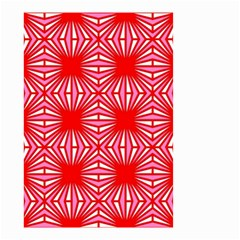 Retro Red Pattern Small Garden Flag (two Sides)