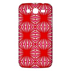 Retro Red Pattern Samsung Galaxy Mega 5 8 I9152 Hardshell Case  by ImpressiveMoments