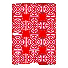 Retro Red Pattern Samsung Galaxy Tab S (10 5 ) Hardshell Case