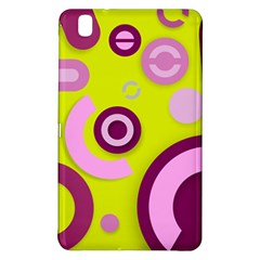 Florescent Yellow Pink Abstract  Samsung Galaxy Tab Pro 8 4 Hardshell Case