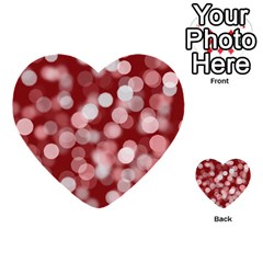 Modern Bokeh 11 Multi-purpose Cards (heart)  by ImpressiveMoments