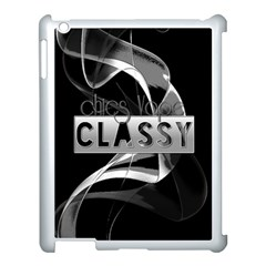 Classy Chics Vape Black Apple Ipad 3/4 Case (white) by OCDesignss