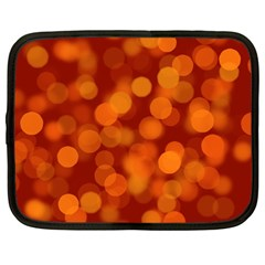 Modern Bokeh 12 Netbook Case (large)	 by ImpressiveMoments