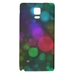 Modern Bokeh 15 Galaxy Note 4 Back Case by ImpressiveMoments
