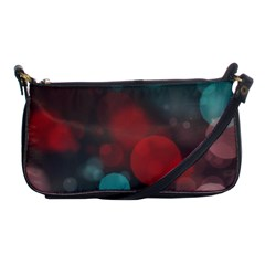 Modern Bokeh 15b Shoulder Clutch Bags by ImpressiveMoments