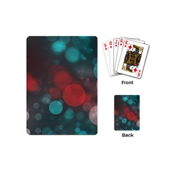 Modern Bokeh 15b Playing Cards (mini)  by ImpressiveMoments