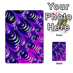 Special Fractal 31pink,purple Multi Purpose Cards (rectangle)