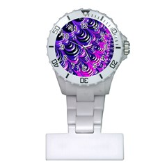 Special Fractal 31pink,purple Nurses Watches