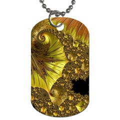 Special Fractal 35cp Dog Tag (one Side)