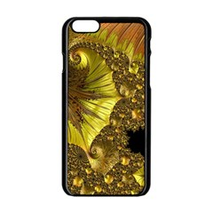 Special Fractal 35cp Apple Iphone 6 Black Enamel Case
