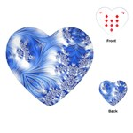 Special Fractal 17 Blue Playing Cards (Heart)  Front