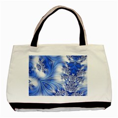 Special Fractal 17 Blue Basic Tote Bag