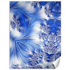 Special Fractal 17 Blue Canvas 36  X 48   by ImpressiveMoments