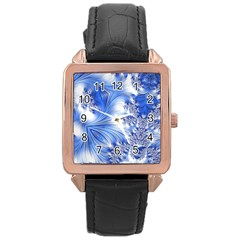 Special Fractal 17 Blue Rose Gold Watches