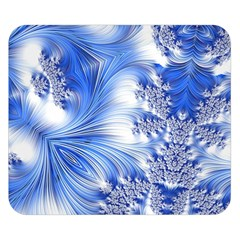 Special Fractal 17 Blue Double Sided Flano Blanket (small)  by ImpressiveMoments
