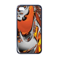 Special Fractal 24 Terra Apple Iphone 4 Case (black) by ImpressiveMoments