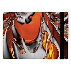 Special Fractal 24 Terra Samsung Galaxy Tab Pro 12 2  Flip Case by ImpressiveMoments