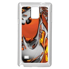 Special Fractal 24 Terra Samsung Galaxy Note 4 Case (white) by ImpressiveMoments