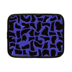 Purple Holes Netbook Case (small) by LalyLauraFLM