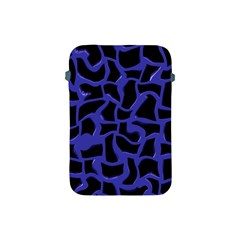 Purple Holes Apple Ipad Mini Protective Soft Case by LalyLauraFLM