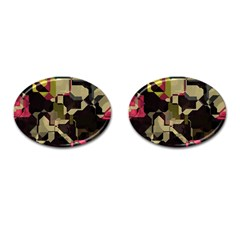 Techno Puzzle Cufflinks (oval) by LalyLauraFLM
