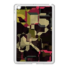 Techno Puzzle Apple Ipad Mini Case (white) by LalyLauraFLM