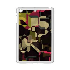 Techno Puzzle Apple Ipad Mini 2 Case (white) by LalyLauraFLM