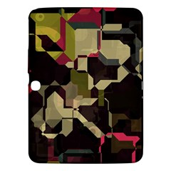 Techno Puzzle Samsung Galaxy Tab 3 (10 1 ) P5200 Hardshell Case  by LalyLauraFLM