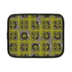 Plastic Shapes Pattern Netbook Case (small) by LalyLauraFLM