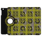 Plastic shapes pattern Apple iPad Mini Flip 360 Case Front