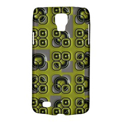 Plastic Shapes Pattern Samsung Galaxy S4 Active (i9295) Hardshell Case by LalyLauraFLM