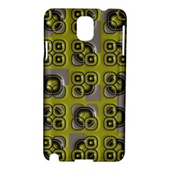 Plastic Shapes Pattern Samsung Galaxy Note 3 N9005 Hardshell Case by LalyLauraFLM