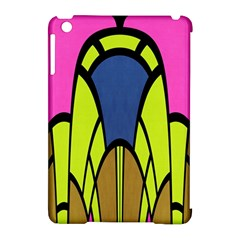 Distorted Symmetrical Shapes Apple Ipad Mini Hardshell Case (compatible With Smart Cover) by LalyLauraFLM