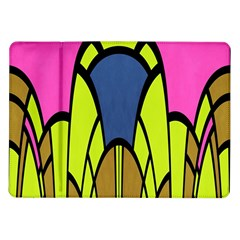 Distorted Symmetrical Shapes Samsung Galaxy Tab 10 1  P7500 Flip Case by LalyLauraFLM